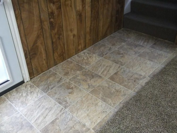 Basement Carpet fixed